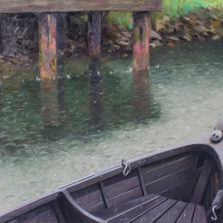 Rainy Day Rowboat