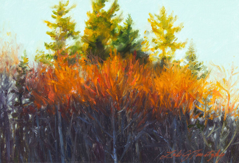 Study for Red Alders